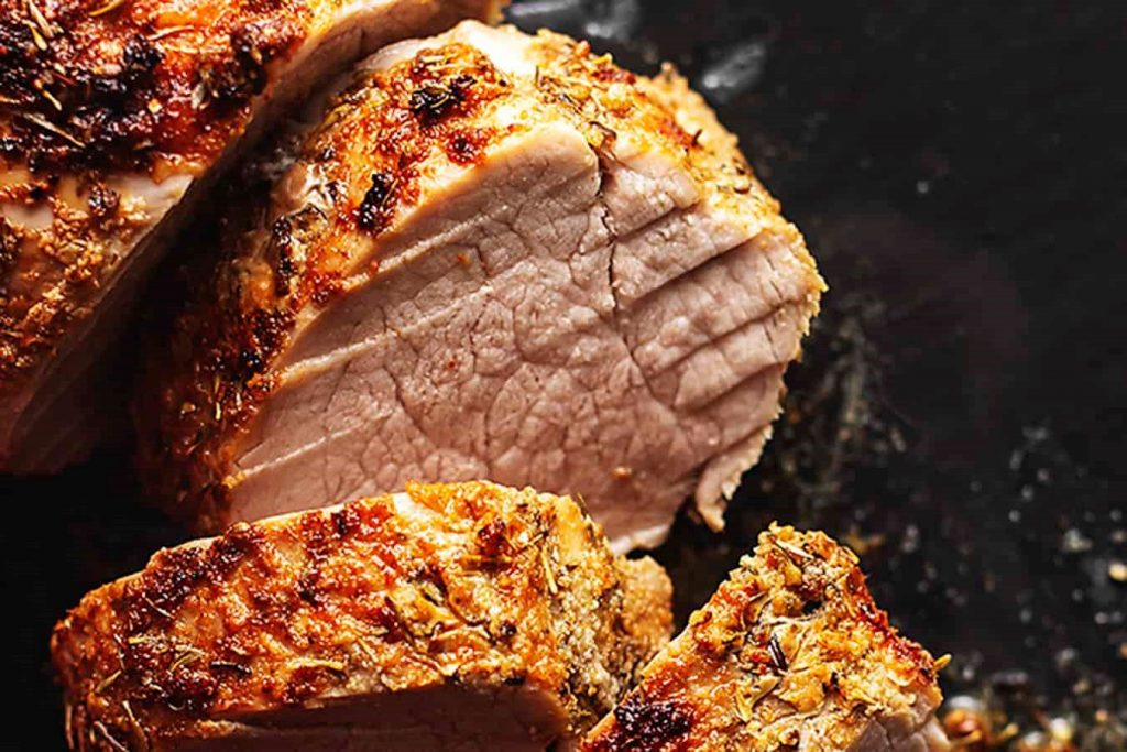 Air Fryer Marinated Pork Tenderloin Recipe 1