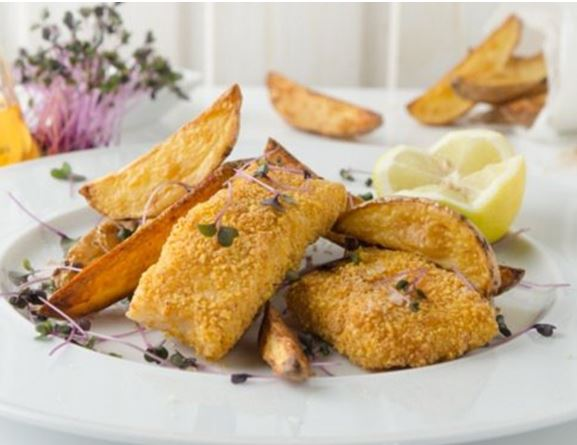 Fish And Chips From The Air Fryer 1