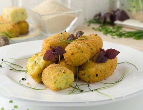 Potato Croquettes With Parmesan Cheese From The Air Fryer 1