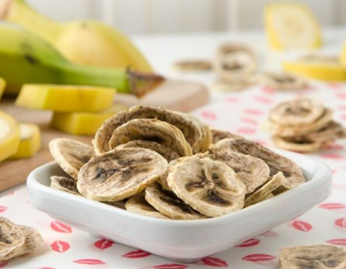 Crispy Banana Chips From The Air Fryer 1
